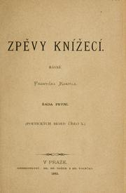 Cover of: Zpvy kníecí | Frantiek Kvapil