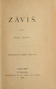 Cover of: Závi | Frantiek Chalupa