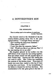 Cover of: A downrenter's son | Ruth Hall