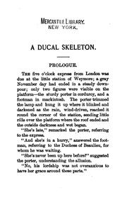 Cover of: A ducal skeleton [a story] | Héloïse (Durant) Rose