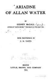 Cover of: Ariadne of Allan Water | Sidney McCall