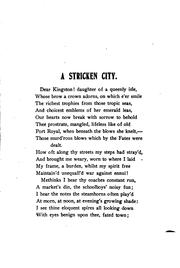Cover of: A stricken city | Salmon Maclean
