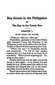 Cover of: Boy scouts in the Philippines | G Harvey Ralphson