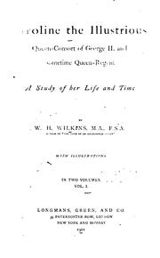 Cover of: Caroline | W. H. Wilkins