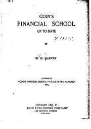 Cover of: Coin's financial school up to date | William Hope Harvey