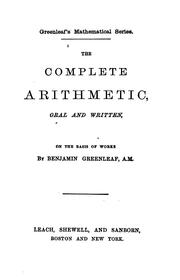 Cover of: The complete arithmetic | Henry Bartlett Maglathlin
