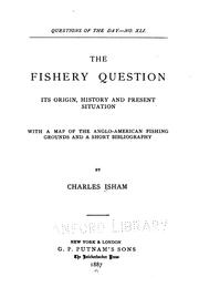 Cover of: The fishery question | Charles Isham