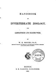 Cover of: Handbook of invertebrate zoology | William Keith Brooks