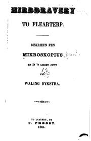 Cover of: Hirddravery to Flearterp | Mikroskopius pseud.