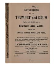 Cover of: Instructions for the trumpet and drum | Greissinger, F. Henri