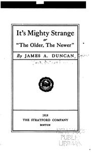Cover of: It's mighty strange | Arthur March Clark