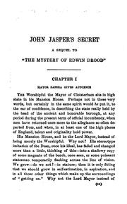 Cover of: John Jasper's secret | Henry Morford