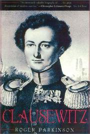 Cover of: Clausewitz by Parkinson, Roger.
