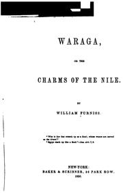 Cover of: Waraga | William Furniss