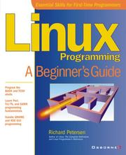 Cover of: Linux Programming | Richard Petersen