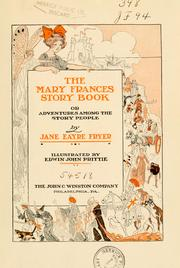 Cover of: The Mary Frances story book | Jane Eayre Fryer