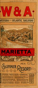 Cover of: Marietta | Western and Atlantic railroad
