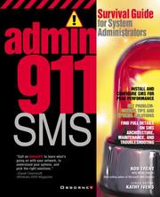 Cover of: Admin911 | Rod Trent