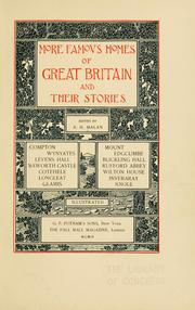 Cover of: More famous homes of Great Britain and their stories | Alfred Henry Malan