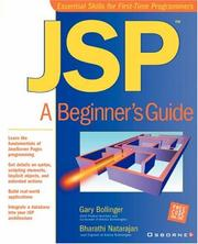 Cover of: JSP | Gary Bollinger