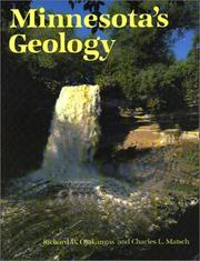 Cover of: Minnesota's geology by Richard W. Ojakangas