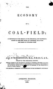Cover of: The Economy of a Coal-field | James Finley Weir Johnston