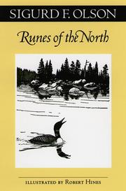 Cover of: Runes of the North | Sigurd F. Olson