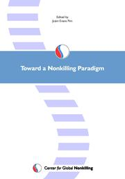Cover of: Toward a Nonkilling Paradigm by Olivier Urbain