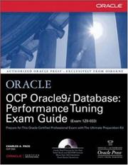 Cover of: OCP Oracle9i Database | Charles Pack