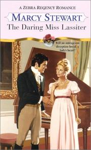 Cover of: The daring Miss Lassiter by Marcy Stewart