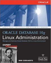 Cover of: Oracle Database 10g Linux Administration | Edward  Whalen