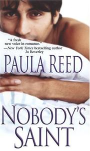 Cover of: Nobody's saint by Paula Reed
