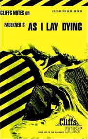 Cover of: As I lay dying | James Lamar Roberts