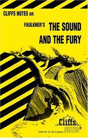 Cover of: The sound and the fury | William Faulkner
