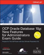 Cover of: OCP Oracle Database 10g | Sam Alapati
