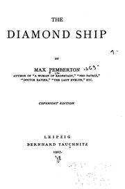 Cover of: The Diamond Ship by Sir Max Pemberton