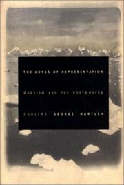 Cover of: The Abyss of Representation by George Hartley