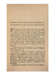 Cover of: Angelic Life in the Spiritual World, as Revealed by the Sacred Scriptures | John Stuart Bogg