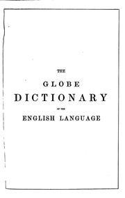 Cover of: The Globe dictionary of the English language by English language