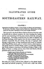 Cover of: The Official Illustrated Guide to the South-Eastern Railway and All Its Branches by George S. Measom