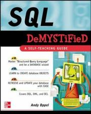 Cover of: SQL Demystified by Andrew Oppel