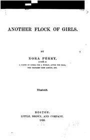Cover of: Another Flock of Girls | Nora Perry