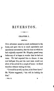 Cover of: Riverston by Georgiana Marion Craik