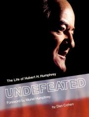 Cover of: Undefeated | Dan Cohen