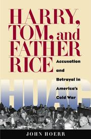Cover of: Harry, Tom, and Father Rice | John P. Hoerr