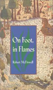 Cover of: On Foot, in Flames | Robert McDowell