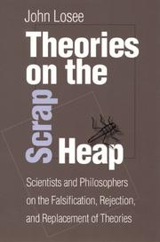 Cover of: Theories On The Scrap Heap by John Losee