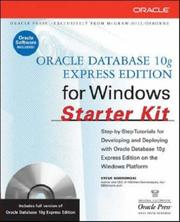 Cover of: Hands-On Oracle Database 10g Express Edition for Windows | Steven M. Bobrowski