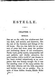 Cover of: Estelle, by the author of 'Four messengers' | Emily Marion Harris