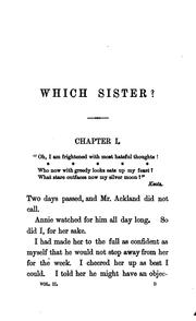 Cover of: Which sister? By Sydney Mostyn | William Clark Russell